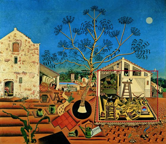 ¿Dónde se inspiraba Miró?