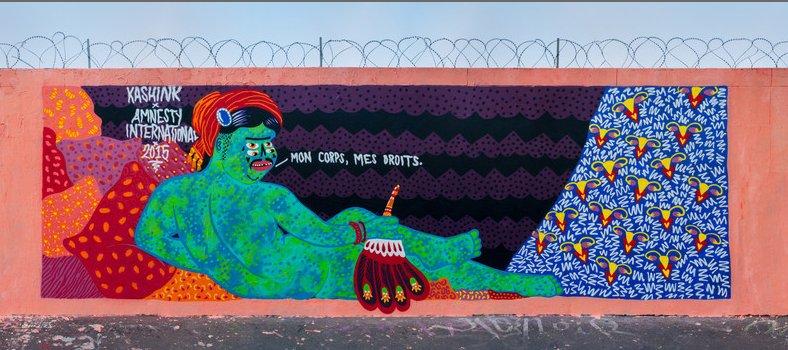 ¿Quién hay detrás de este grafiti?