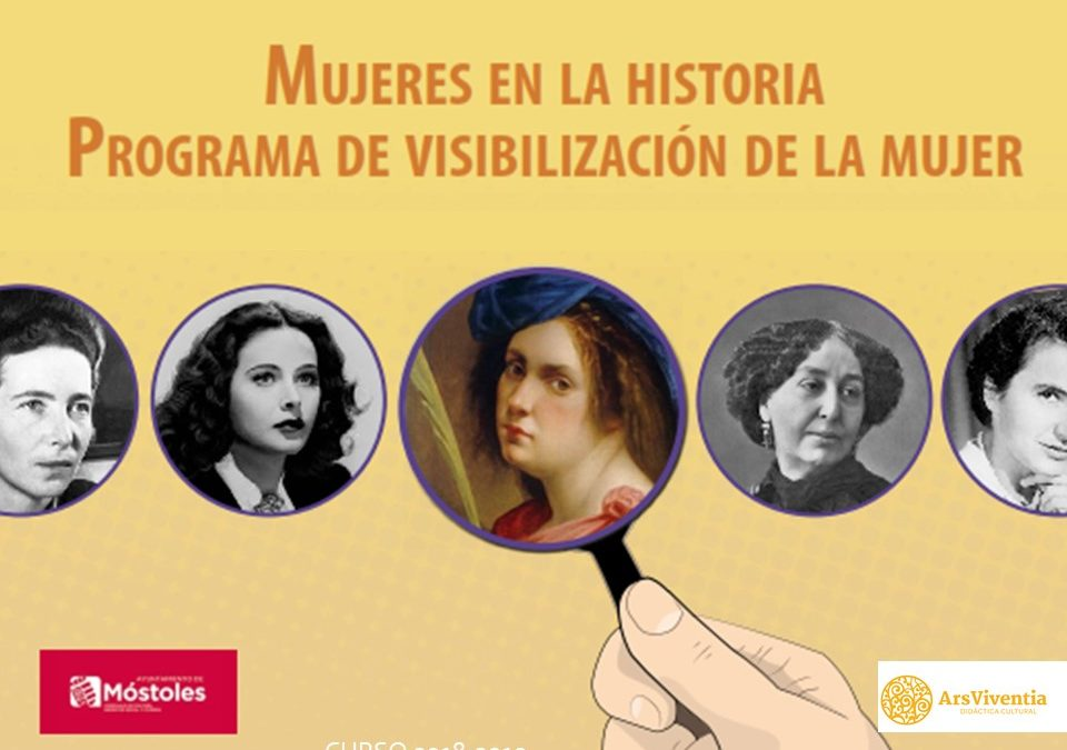"""¡Una de mujeres en Móstoles! Programa """"Mujeres en la Historia"""""""