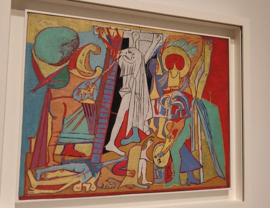 Crucifixión-Picasso